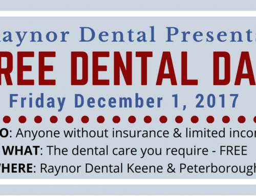 Raynor Dental Presents Day of FREE Dental Care