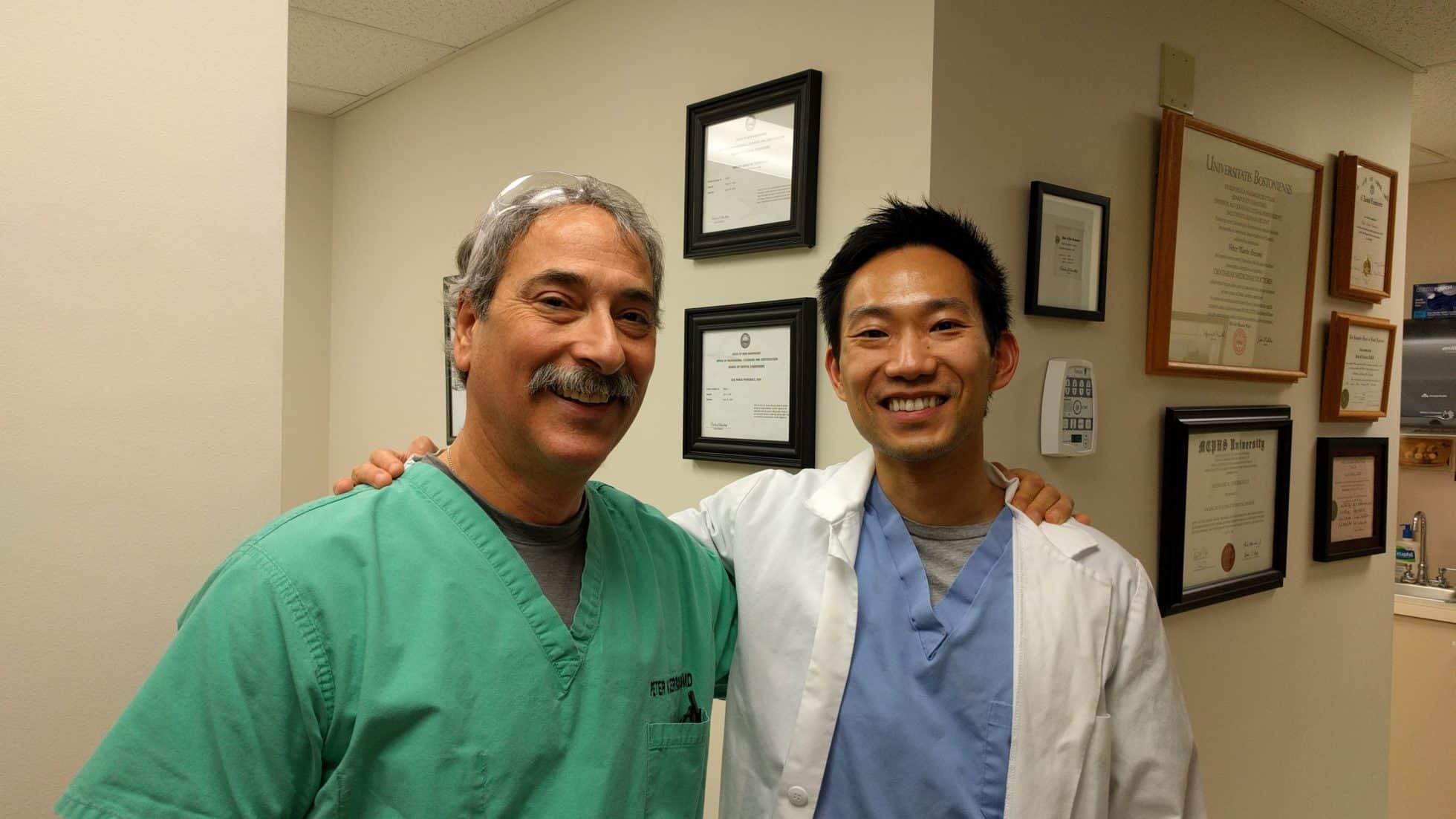 Dr. Cerroni and Dr. Lee